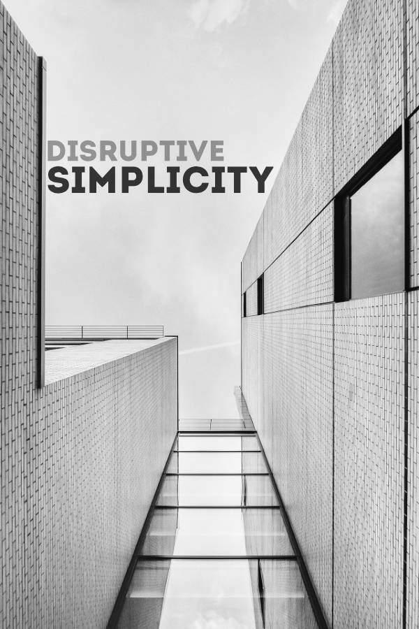 RAYVN Disruptive Simplicity Cover