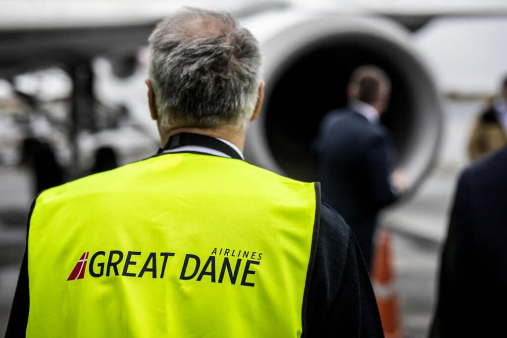 Great Dane Airlines Crew Inspection